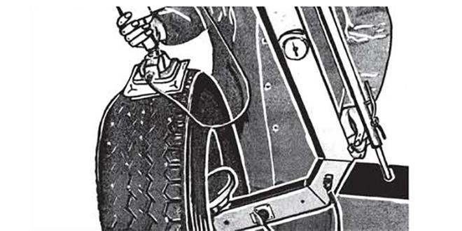 Ремонт повреждений ходовой поверхности радиальных шин Ferdus
