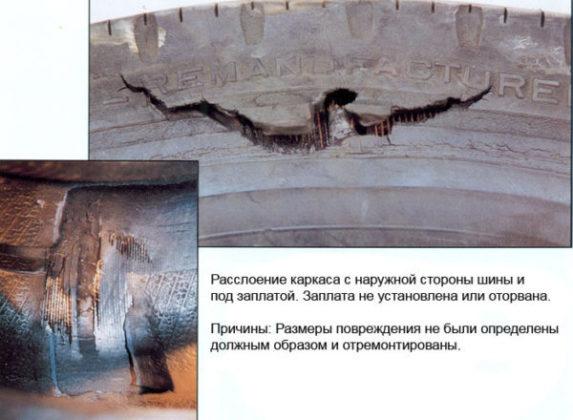 Основные ошибки при ремонте шин, их причины и последствия Шиноремонтный инструмент Шиноремонтные материалы Шиномонтажник Шиномонтаж Технология ремонта Публикации