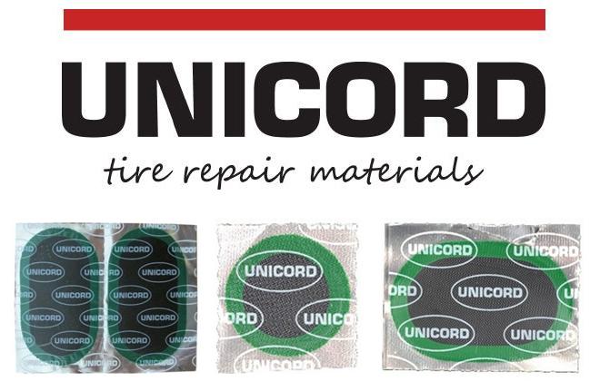 Латки Юникорд для ремонта автомобильных камер