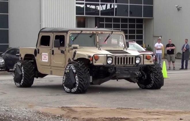Первые в мире колеса-трансформеры Шиномонтажник Техника США Новости Мир Интересное Армия Video