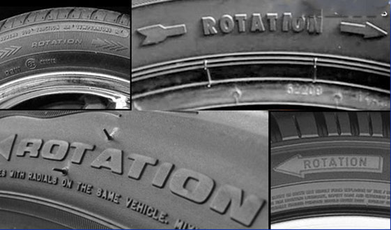 Автомобильные шины с направленным рисунком протектора. Шиномонтажник Шиномонтаж Ремонтник Публикации Автосервис Автомобиль Автолюбитель