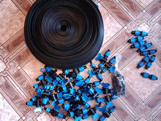 Капельное орошение. Шланги и эмиттеры для капельного полива. Сад Публикации Огород Дачник Дача