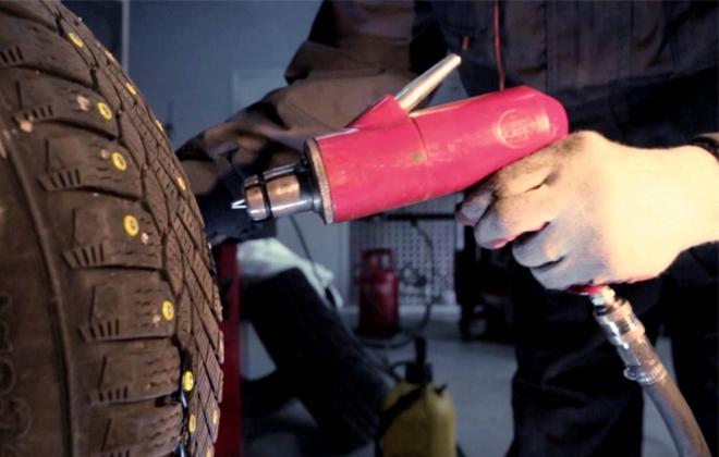 Восстановление шипованной резины Шиномонтажник Шиномонтаж Статьи Публикации Автомобиль Автолюбитель