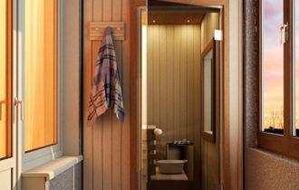 Установка собственной сауны в обычной городской квартире Строитель Статьи Публикации Дом