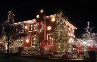 На праздничную иллюминацию в Рождество американцы тратят больше электроэнергии, чем некоторые страны на все свои нужды Рождество Новый год Новости Интересное Дом Дачник